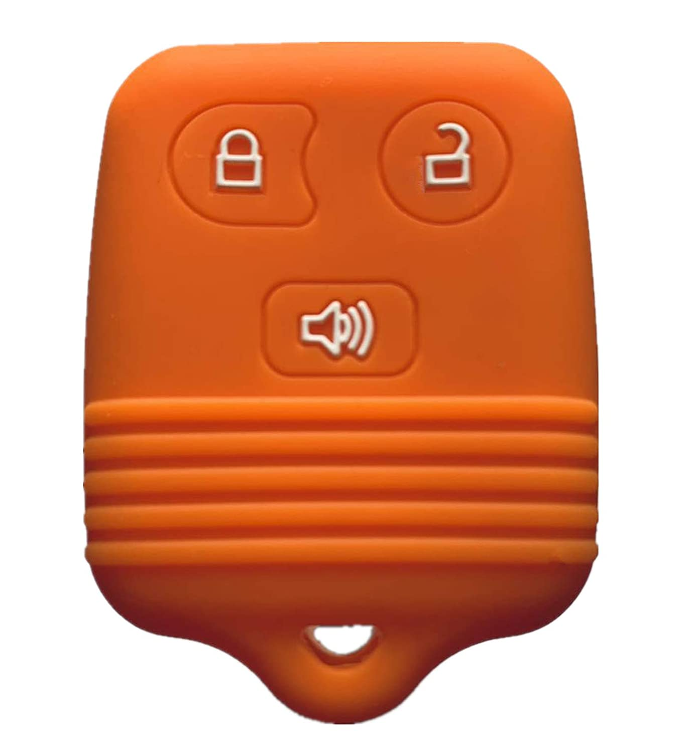 Rpkey Silicone Keyless Entry Remote Control Key Fob Cover Case protector For Ford Lincoln Mercury Mazda CWTWB1U331 GQ43VT11T CWTWB1U345 8L3Z15K601B 8L-3Z-15K-601B orange
