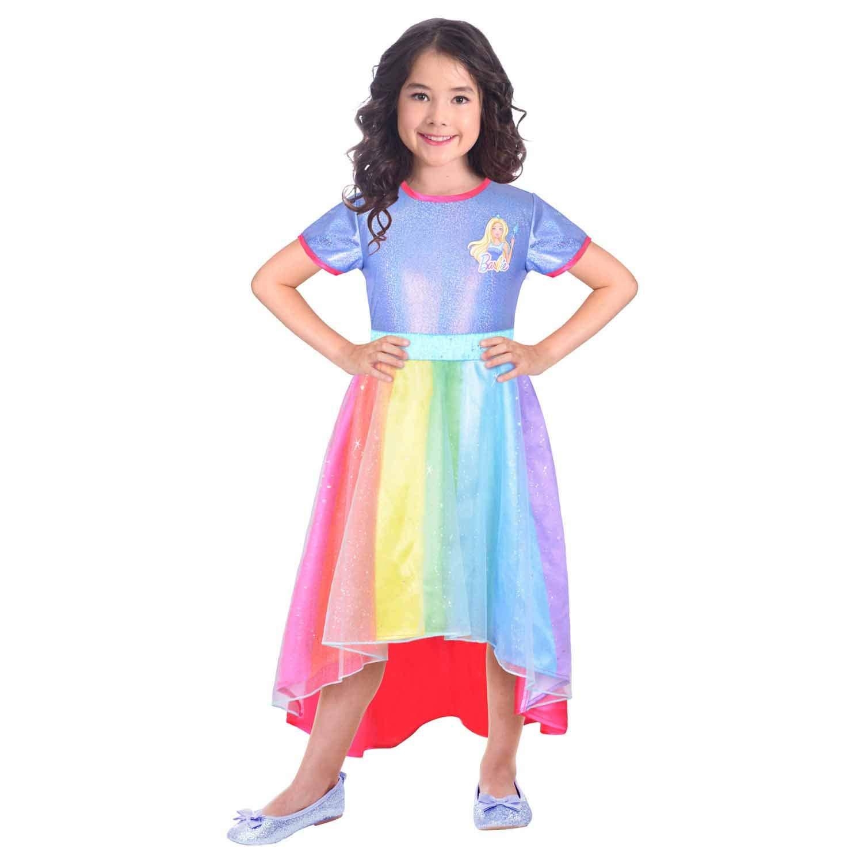 amscan 9904435 - Disfraz infantil de Barbie (134 cm), multicolor ...