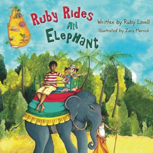 Sri Lanka Ruby - Ruby Rides An Elephant