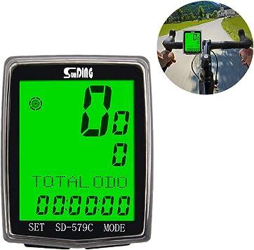 GPS Bici Velocimetro Bicicleta InaláMbrico Ordenador Bicicleta Cuenta Kilometros Bici Velocimetro Bicicleta Cuentakilometros Bici GPS Bicicleta Sensor Velocidad Bicicleta: Amazon.es: Deportes y aire libre