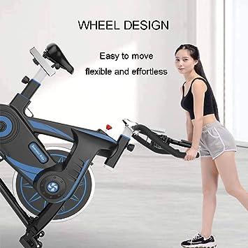 Qys Casa Ejercicio Bicicleta Spinning Bicicleta Tranquila para el ...