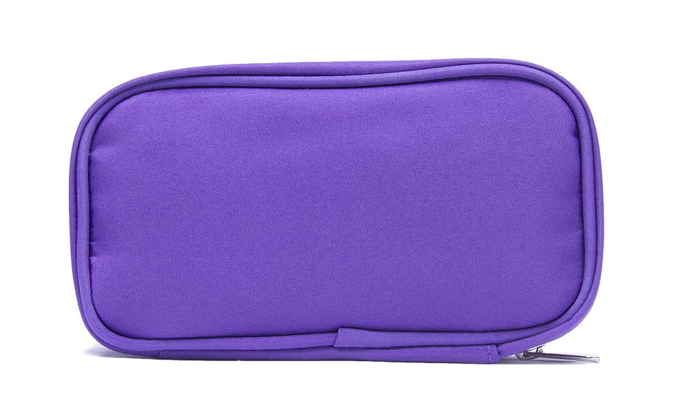 Essential Oil Carrying Case : Holds 10 Bottles – サイズ5 ml、10 ml、15 ml複数の色 B074KYQRN4 パープル