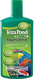 Tetra Pond AlgaeControl 16.9 Ounces, Controls Green Water And String Algae In Ponds (77187)