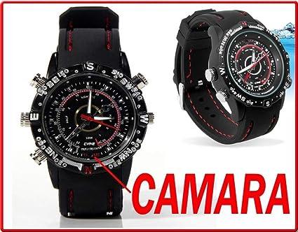 Electrolandia® Reloj Camara Espia HD