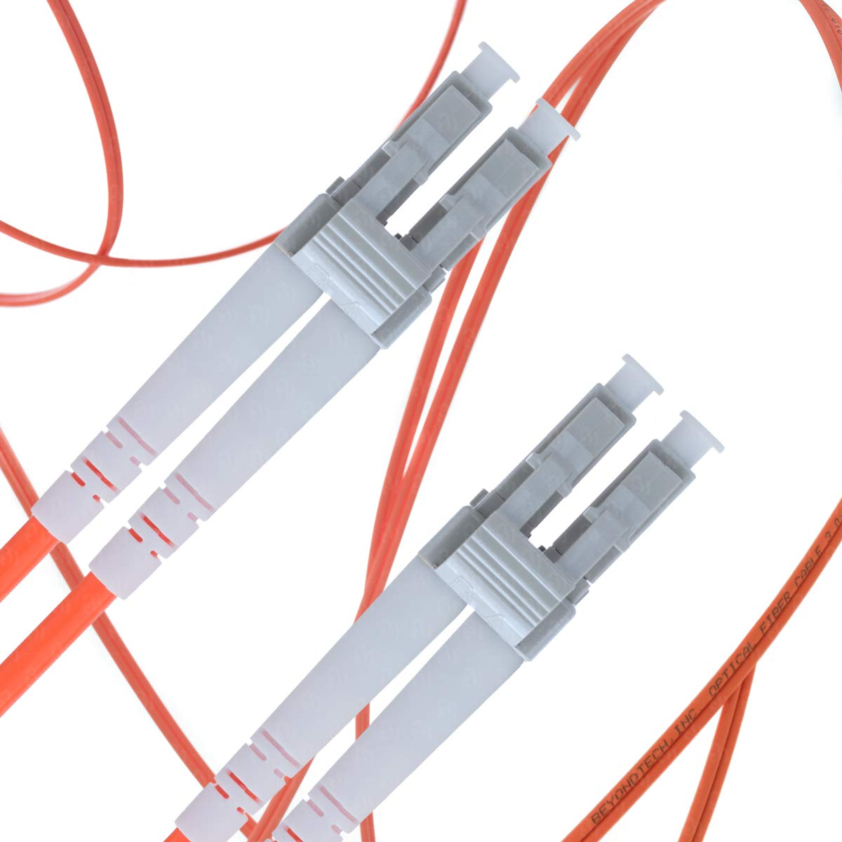 LC to LC Fiber Patch Cable Multimode Duplex - 25m (82ft) - 62.5/125 OM1 - Beyondtech PureOptics Series