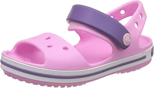 crocs Kids Unisex Crocband Sandals and Floaters Girls' Clogs & Mules at amazon