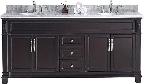 Virtu USA MD-2672-WMRO-ES-NM Victoria Bathroom Vanity