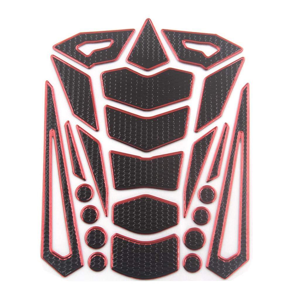 domiluoyoyo 3D Motorcycle Fuel Oil Tank Pad Decal Protector Cover Sticker Universal For Honda Yamaha Kawasaki Suzuki