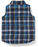 Old Navy Plaid Sherpa-Lined Quilted Vest for