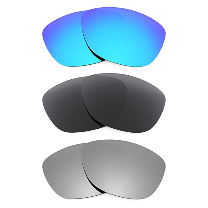 Revant Combo de 3 pares de lentes polarizados, de reemplazo, para Oakley Jupiter LX