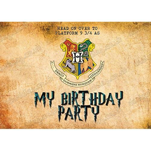 Cheap 10 X Invitaciones Para Fiesta De Cumpleaños De Harry