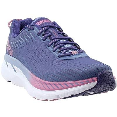 HOKA ONE ONE Women's Clifton 5 Running Shoe (10 W US, Marlin/Blue Ribbon) | Road Running