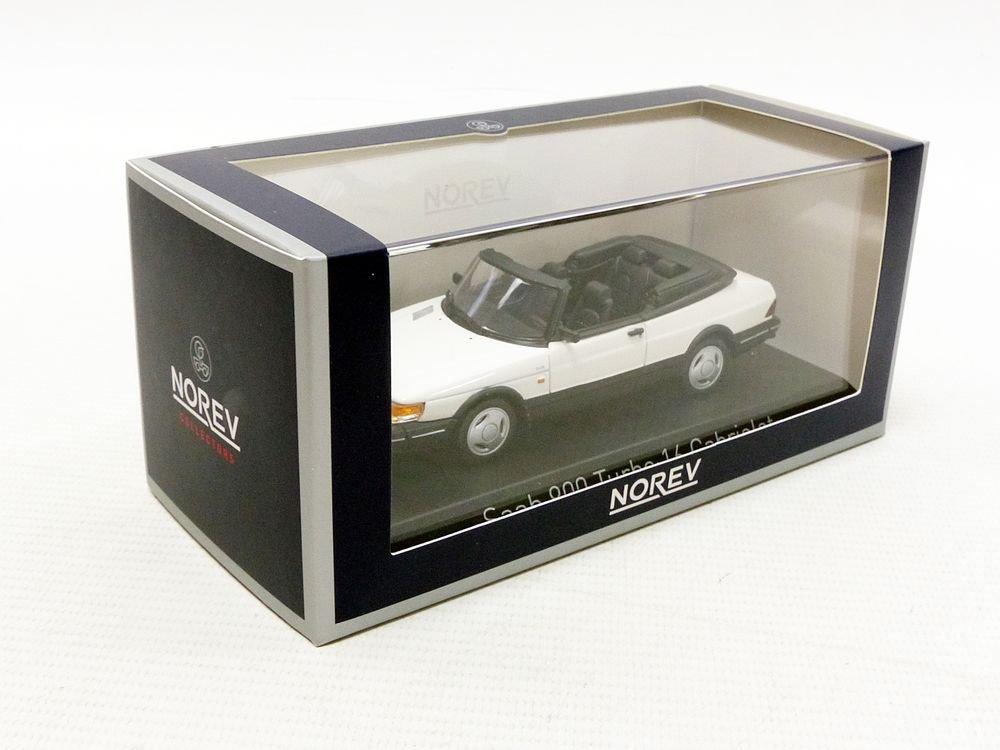 Blanc Norev-900 Turbo 16 Cabriolet 1992 Saab V/éhicule Miniature 810043 Echelle 1//43