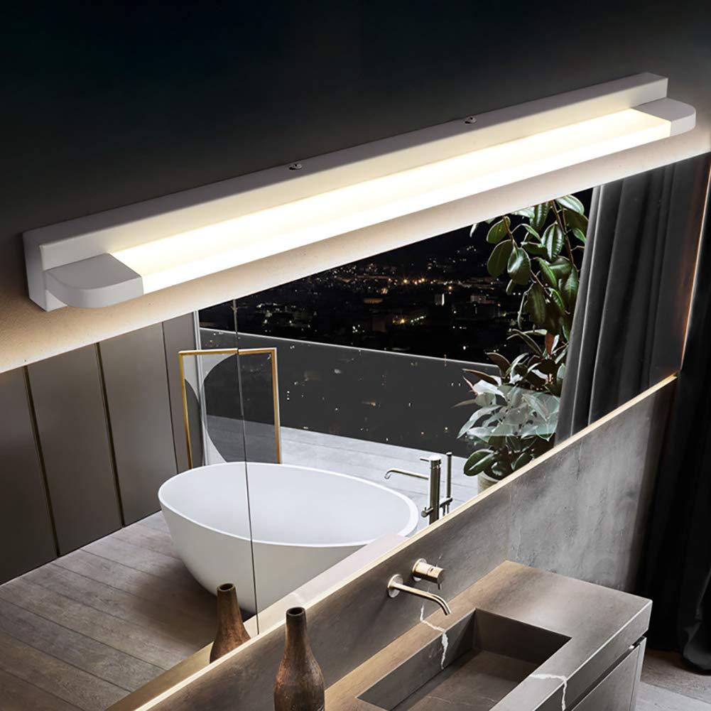 GHL Moderno LED Espejo Luz Pared Simple Moderno Dormitorio Cuarto ...