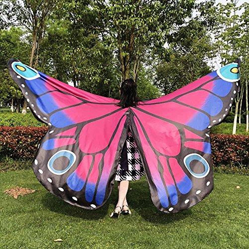 Sciarpe Ali Farfalla L'estate Elegante Hot Ninfa Costume Bikini Accessorio Pink Pixie Poncho Lanskrlsp C Donne Per Scialle SctwIYTq