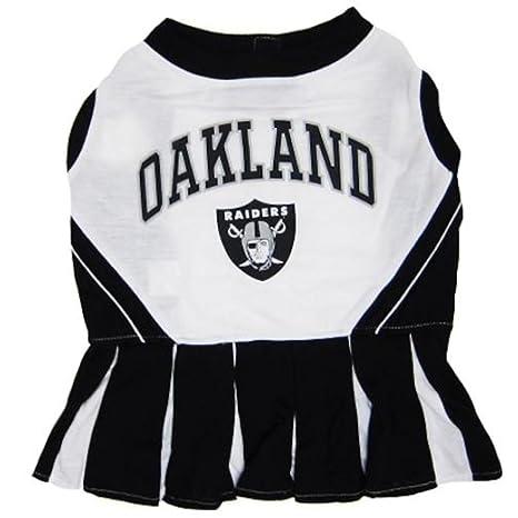 ebc9f9b09 Amazon.com   Pets First NFL Oakland Raiders Dog Cheerleader Dress ...