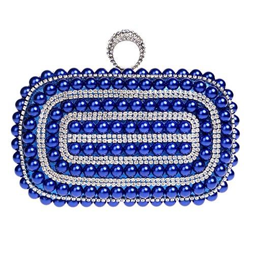 Cuentas S De Para Con Santimon Mano Azul Mujer Cartera 20180402001 SXpqgP8