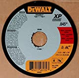 (Box of 100) Dewalt DWA8951F 4-1/2''x .045''x7/8'' Type 1 XP Ceramic Cut-Off Wheels