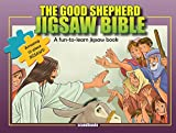 img - for Jesus, The Good Shepherd-Children Games-Jesus Christ Bible Puzzles-Bible Story Book for Children Jigsaw Puzzle Board Book-Happy Birthday Jesus-Jesus ... Cover (Jigsaw Bible) book / textbook / text book