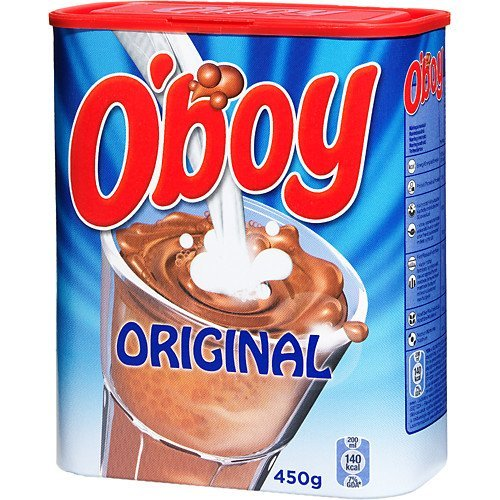 O'boy Chocolate Drink Mix 450g (15.8oz) Boys Imported