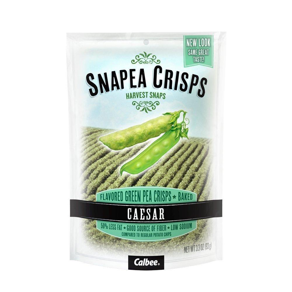 Calbee Snack Salad Snapea Crisps, Ceasar Flavor, 4 pk