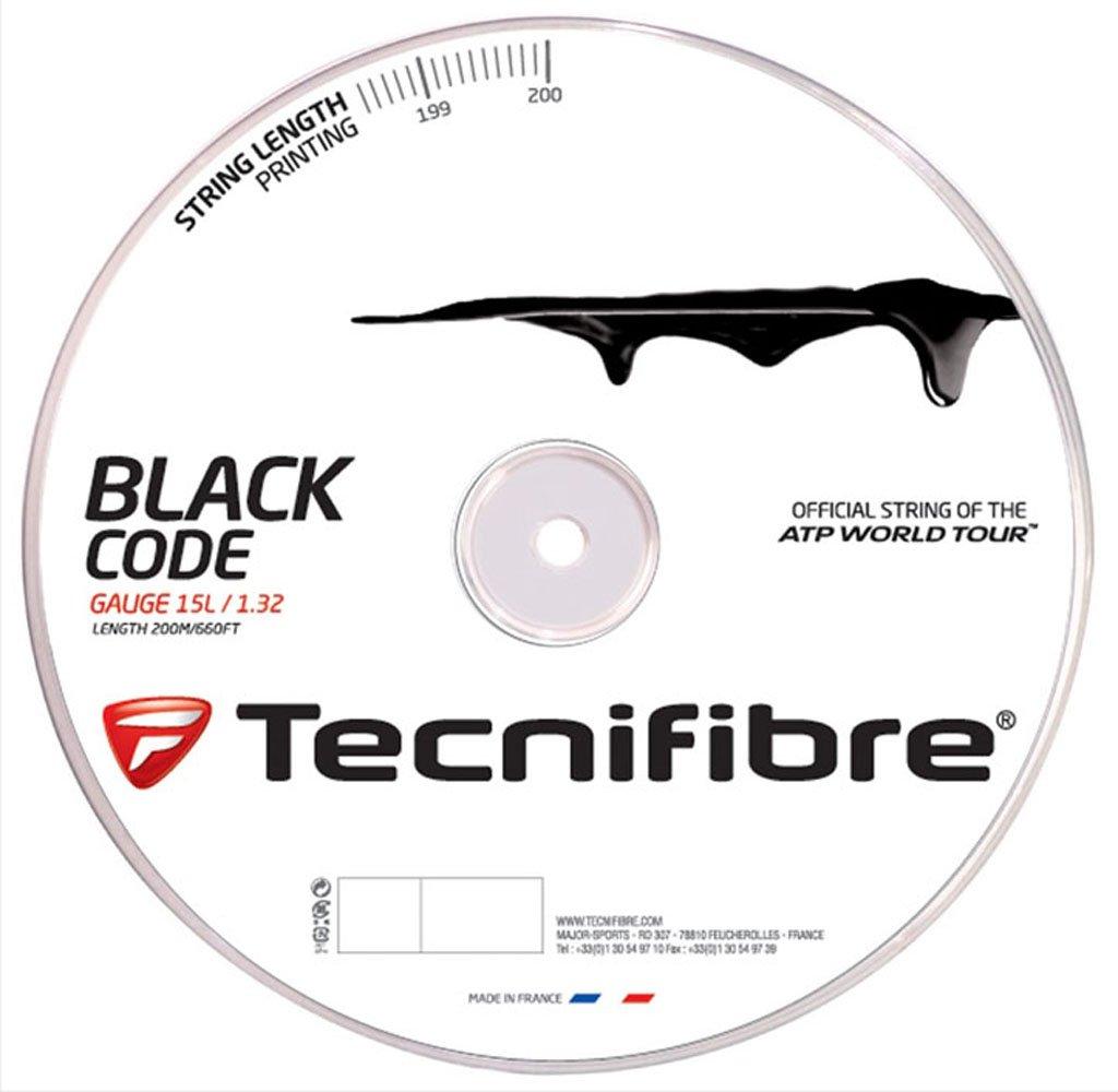 Tecnifibre Black Code Corde–Bobine de 200m TFR506