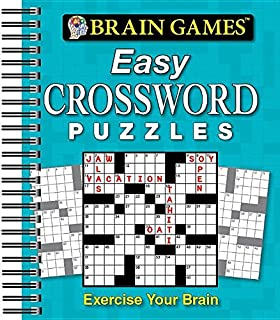 Brain GamesR Easy Crossword Puzzles