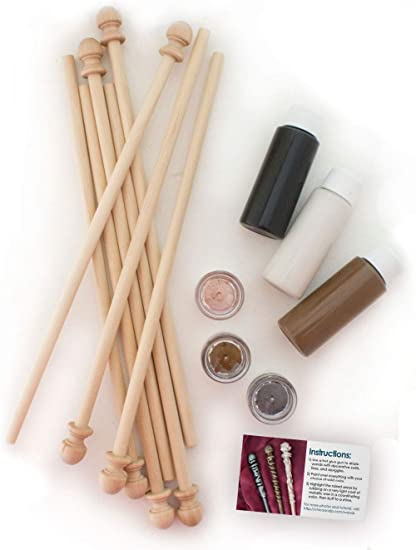 Chica And Jo Magic Wizard S Wand Making Kit Diy Craft Kit To Make Harry Potter Wands