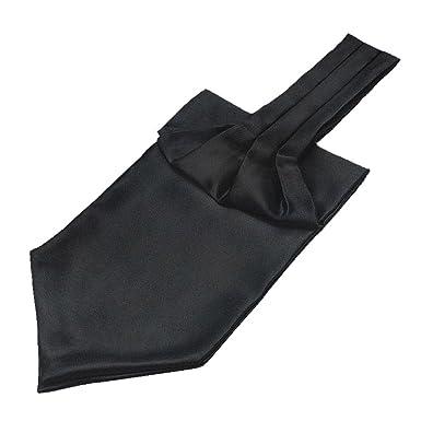 Tenchif Corbata de Ascot de Self Cravat de los hombres de la moda ...