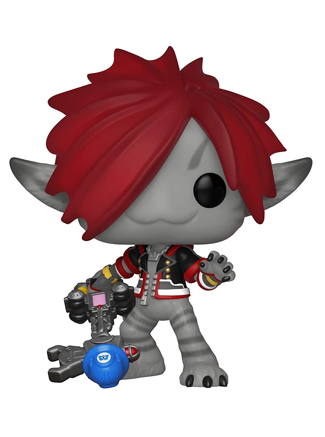 Funko Pop Disney: Kingdom Hearts 3 - Sora (Monster's Inc.) Collectible Figure, Multicolor 34057