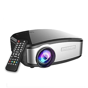 Vídeo proyector, goxmgo Portable Movie proyector con HDMI ...