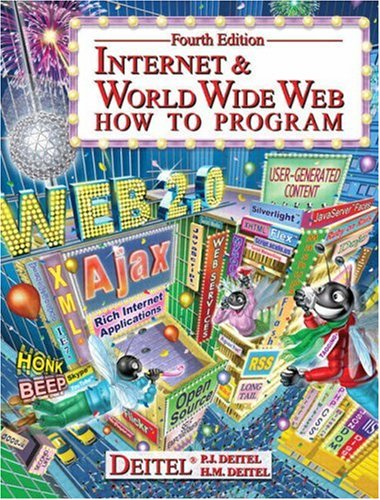 Internet & World Wide Web: How to Program, 4th Edition Front Cover