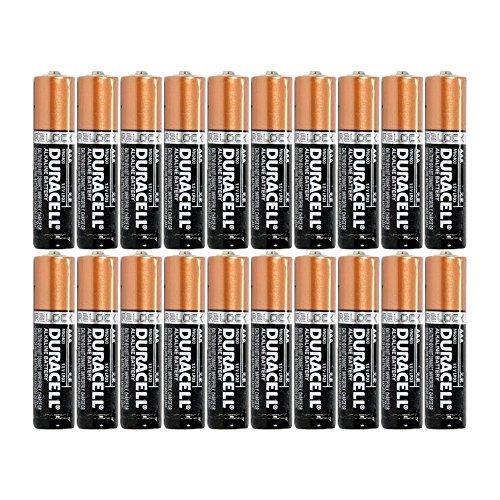 Duracell Duralock Copper Top Alkaline AAA Batteries - 20 Pack
