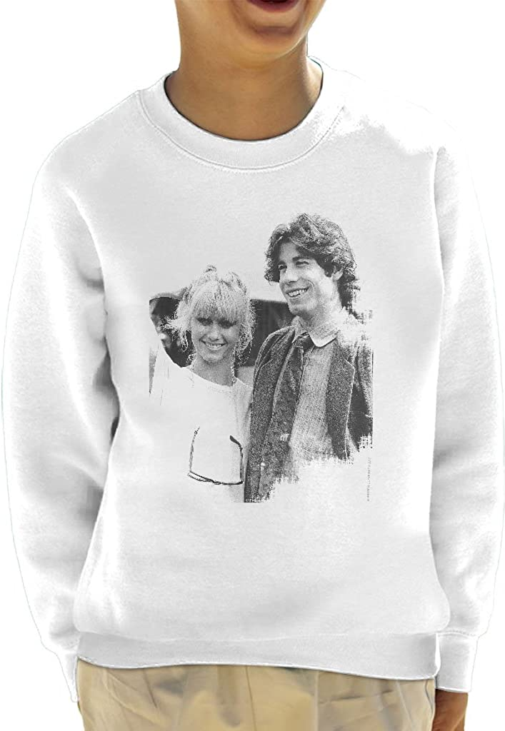 POD66 John Travolta Olivia Newton John Grease Release UK 1978 Kids Sweatshirt