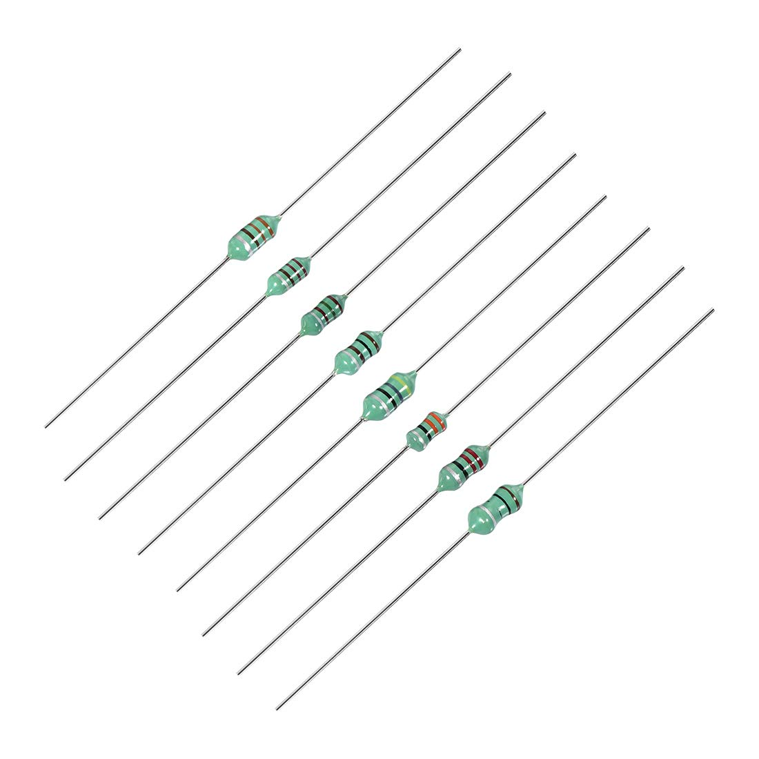 50 pieces Fixed Inductors 1000uH 10/%