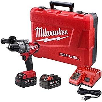 Milwaukee GIDDS2-157186 M18 Fuel Hammer Dr Kit W/2 Xc Bat