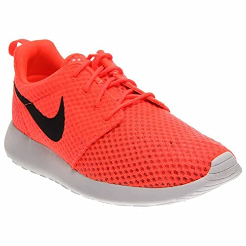 14d33bd59030 NIKE Men s Roshe One BR HotLava White Black 718552-801 (Size  10. 5)  Buy  Online at Low Prices in India - Amazon.in