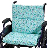 Portable Seat Cushion, Blue Floral