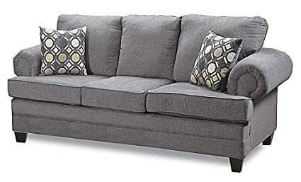 Amazon.com: Chelsea Home Sofa in Fairley Darkstone: Kitchen ...