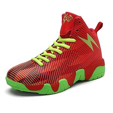 Zapatos de Baloncesto para niños High Top Zapatillas de Deporte ...