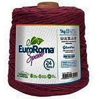 Barbante EuroRoma Spesso 24 fios 1Kg - Bordô