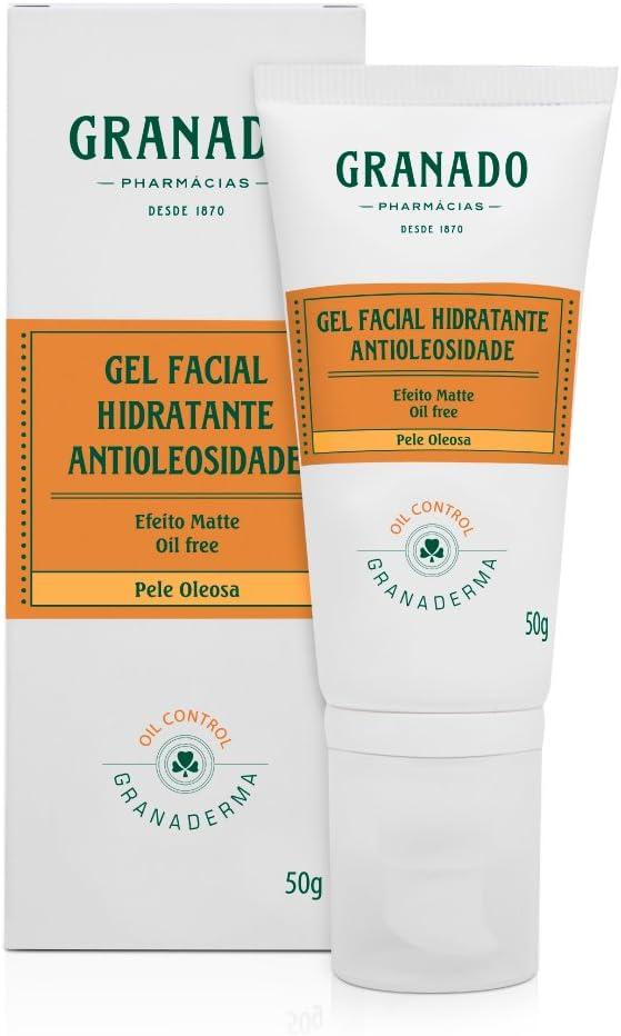Gel Facial Hidratante Antioleosidade, da Granado, 50g