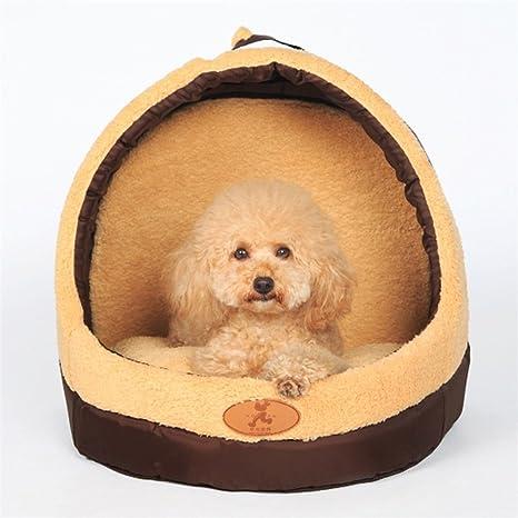 STAZSX Perrera mongol cerrado casa de perro casa de perro camada de gato Teddy Bomei mascota
