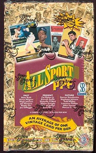 (1996 Score Board Baseball Wax Pack Box 1997 ScoreBoard Basketball All Sport PPF)