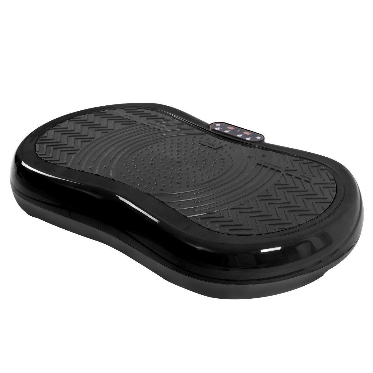 Tangkula Ultrathin Mini Crazy Fit Vibration Platform Massage Machine Fitness Gym (Black) by Tangkula (Image #4)