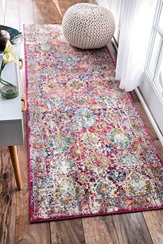 nuLOOM Leilani Persian Runner Rug, 2 8 x 8 , Pink