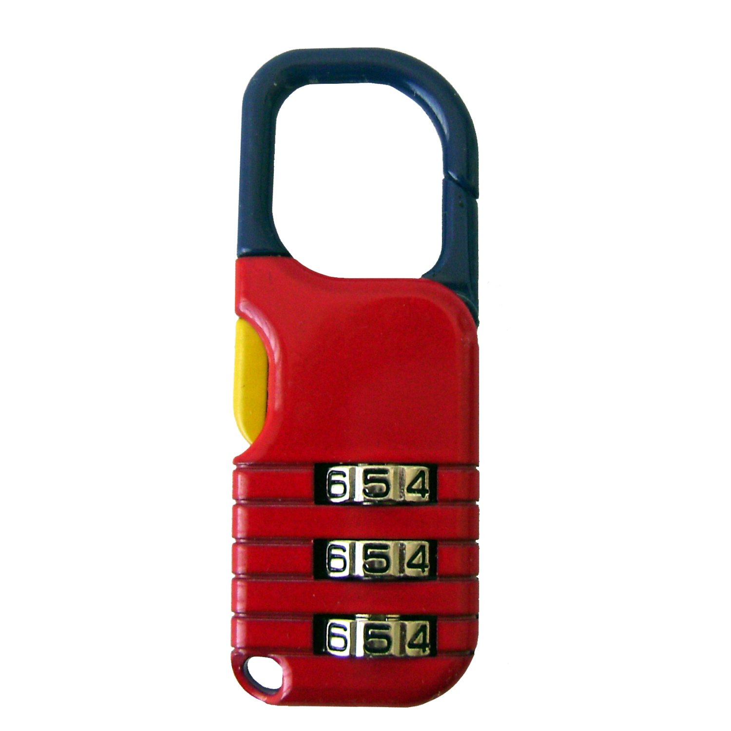The Club UTL851 Backpack Combination Lock, Red