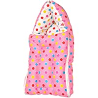 Orange and Orchid 3 in 1 Baby Cotton Bed Cum Sleeping Bag (0-6 Months)