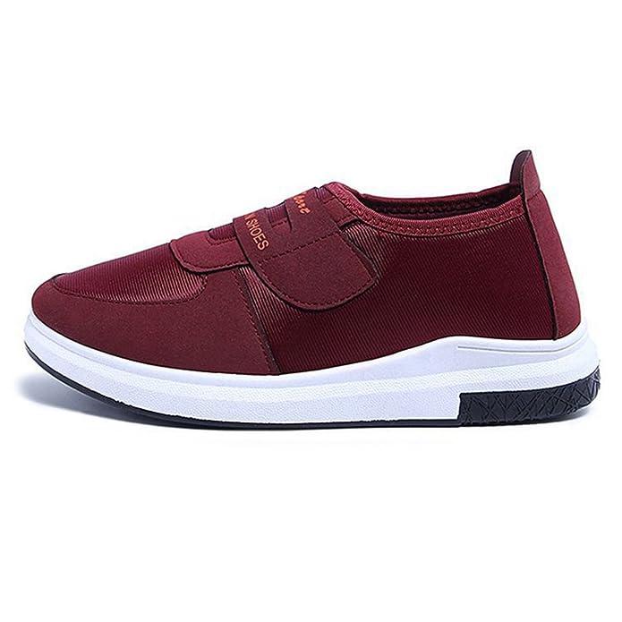 JITIAN Flache Wanderschuhe für Frauen Non Slip Casual Atmungsaktive Bequeme Sneakers Weiche Sohle D3QCu0Sd