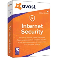 Avast Internet Security 2019, 3 PCs 2 Year [Key Code]